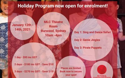 Holiday Fun – Drama Program